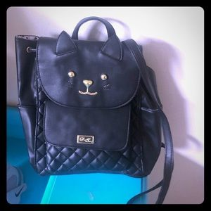 Betsy Johnson backpack. Brand new!